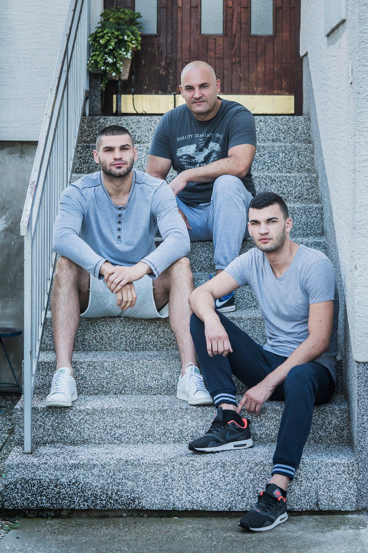 Na fotografiji: braća Hrgović, Ivan, Filip i Matija