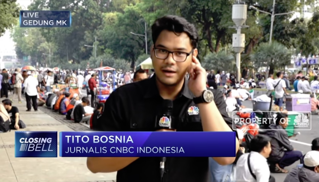 indonezijski novinar Tito Bosna