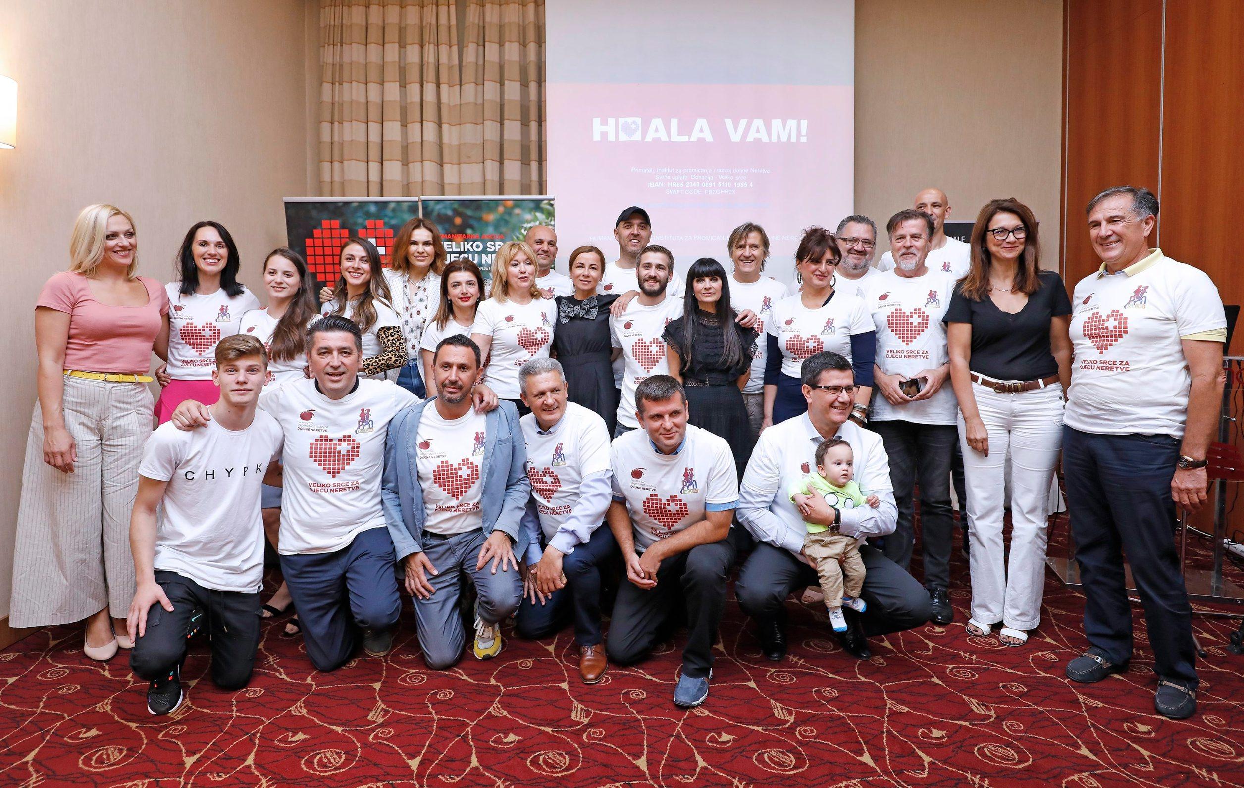 Konferencija za medije održana je u zagrebačkom hotelu International.
