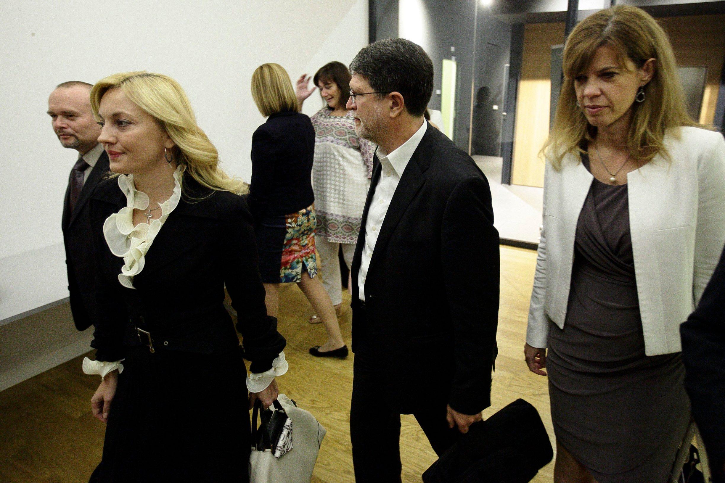 Hrvatska, unatoč tome što nema izravne predstavnike unutar odbora, ima zamjenske članove. Na slici, bivši eurozastupnici (Davor Škrlec i Marijana Petir), te ponovno izabrani (Dubravka Šuica, Tonino Picula, Biljana Borzan)