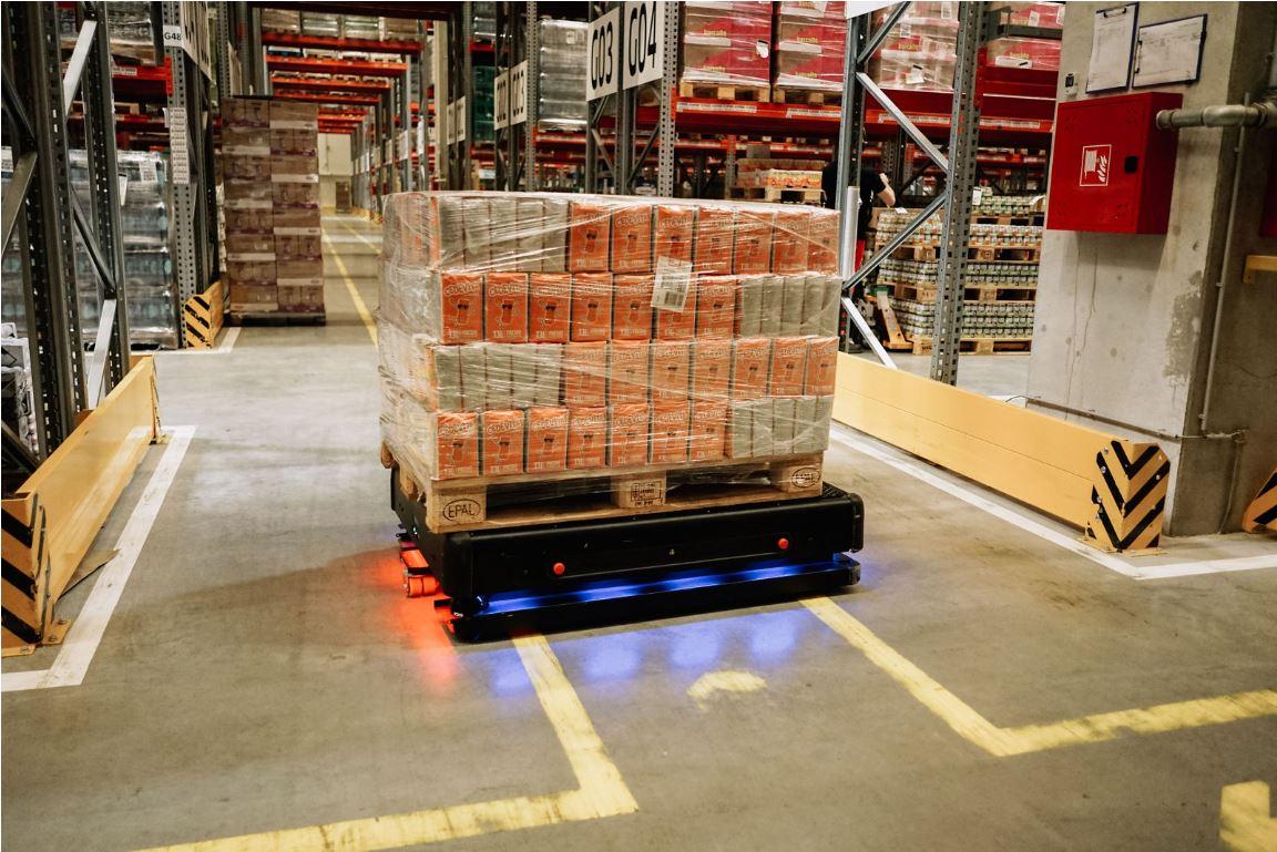 Novi robot tvrtke Gideon Brothers u skladištu Atlantic Grupe