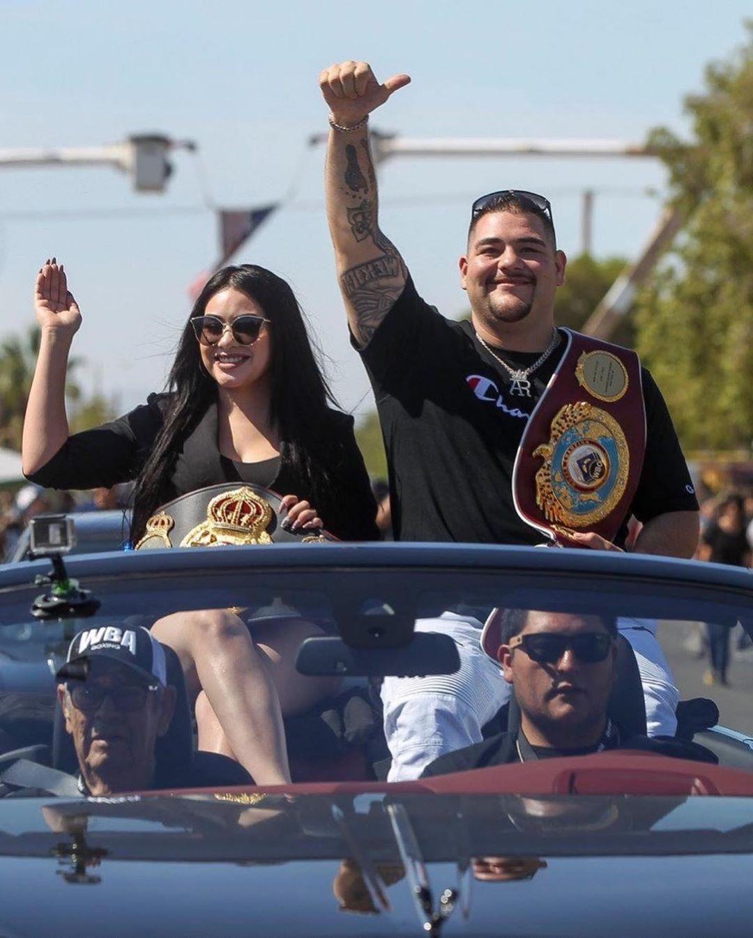 Andy Ruiz i supruga