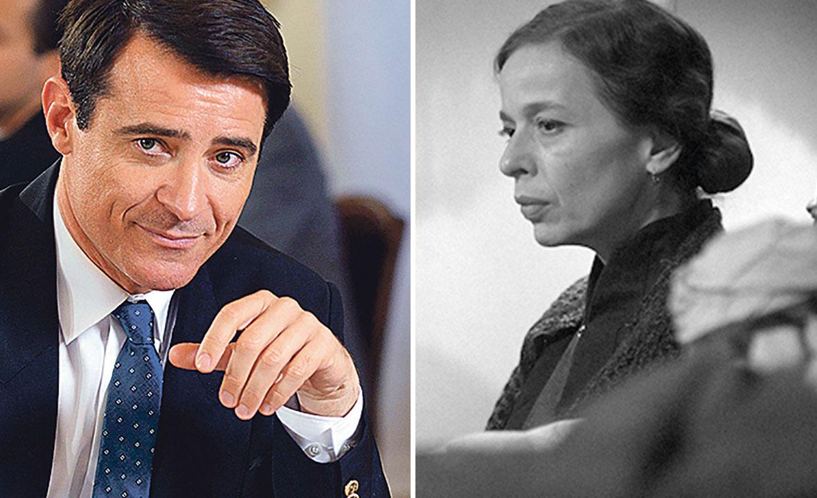 Goran Višnjić u filmu 'General' (lijevo) i Alma Prica u filmu 'Dnevnik Diane Budisavljević' (desno)