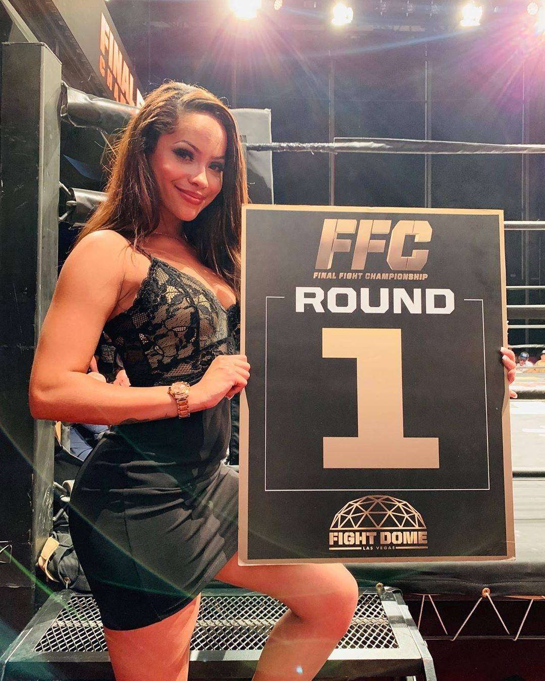 FFC ring djevojka Tiara Michelle (Instagram)