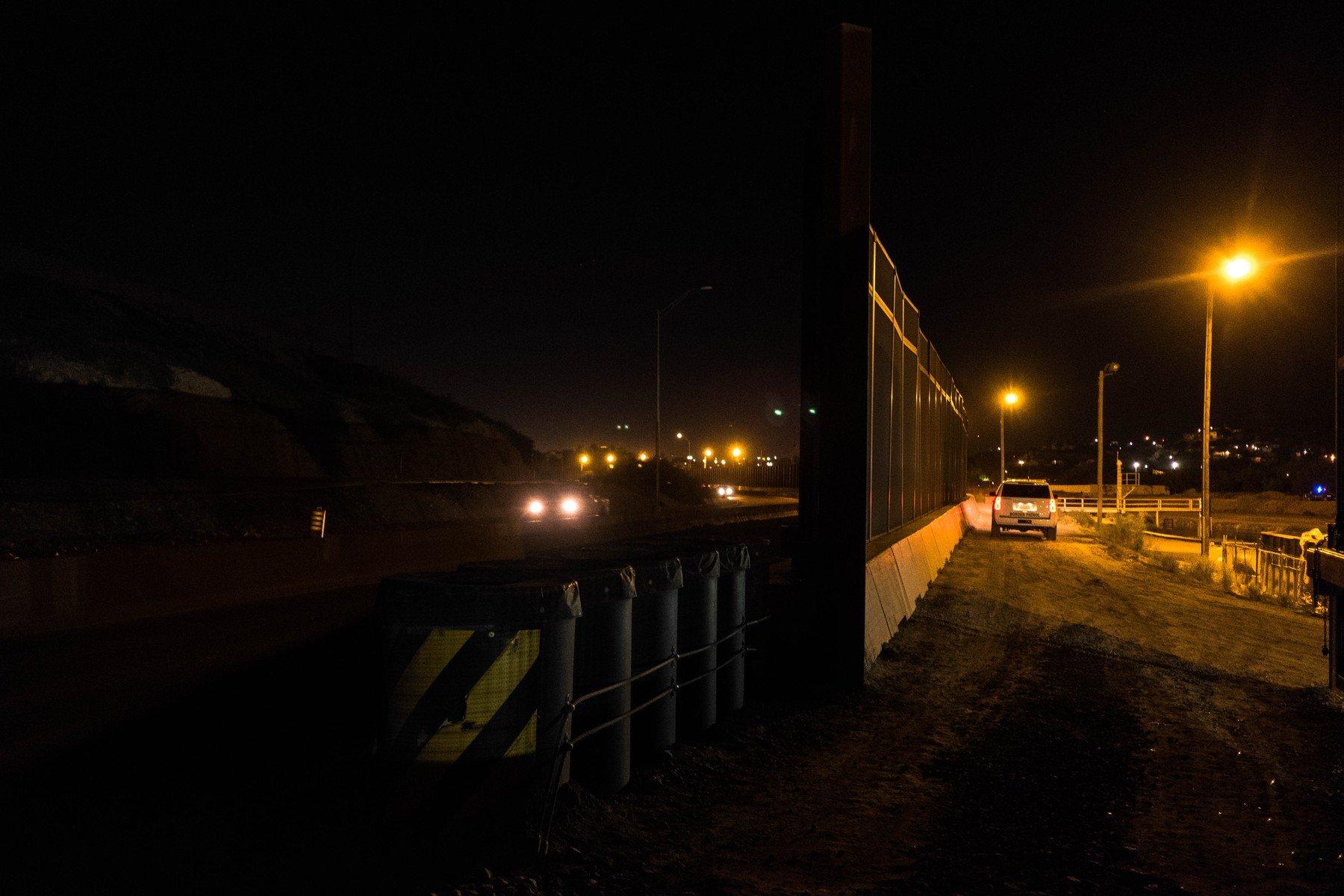 Ilustracija: Američko-meksička granica