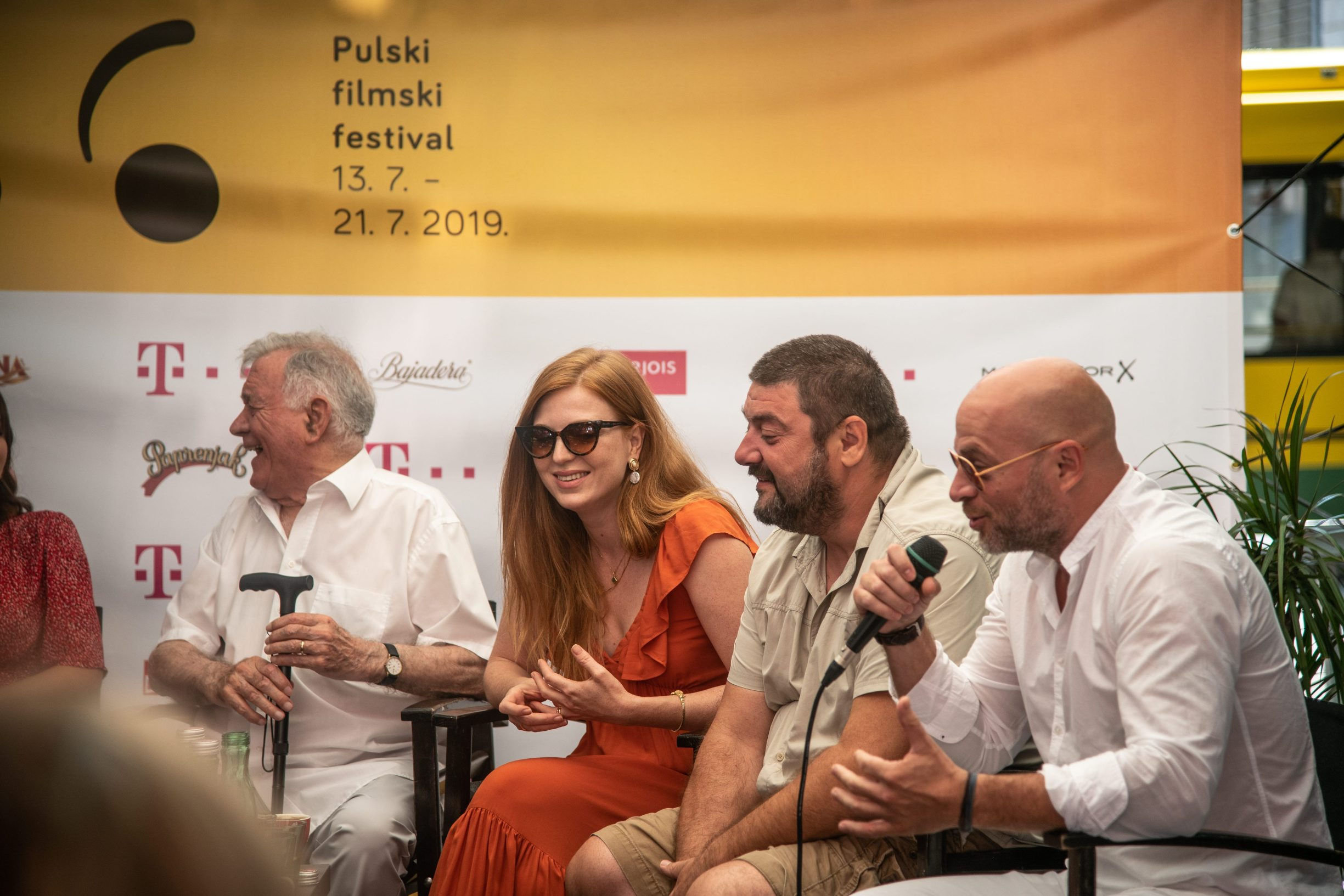 Pula, 130719.  Press konferncija Pula film festivala. Foto: Marijana Banko / CROPIX