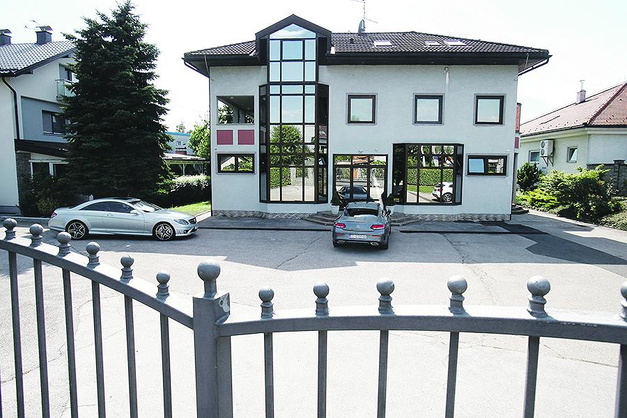 Zagreb, 110719. Sjediste tvrtke MB kvadrat koju Skoro ima u suvlasnistvu kao i tvrtke Hotel Zrinski. Foto: Zeljko Puhovski / CROPIX