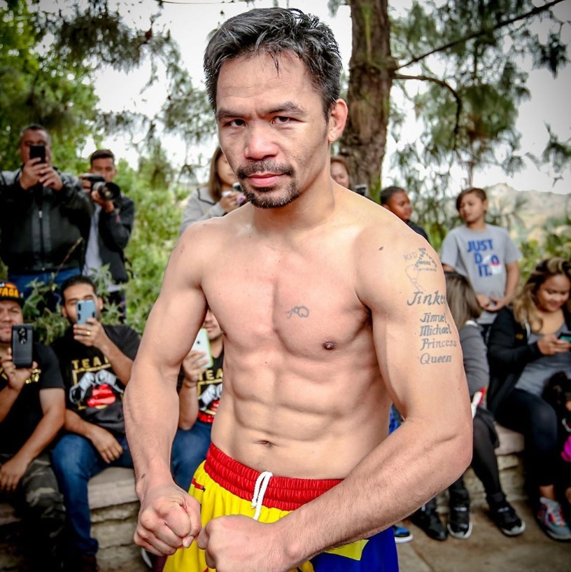 Manny Pacquiao (Instagram)