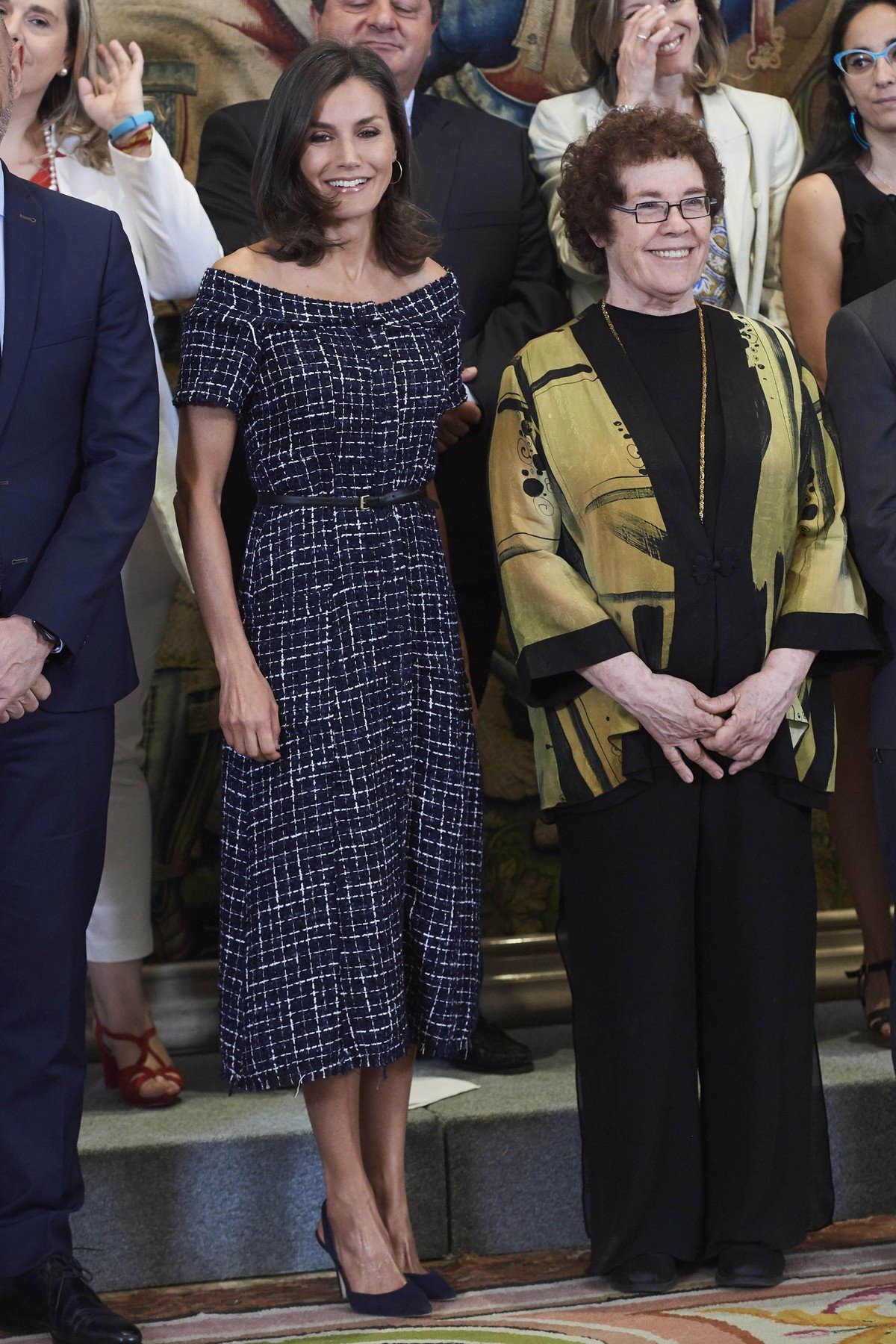 16-07-2019 Queen Letizia during an audience with representatives of the international congress for social communication studies who particpated in the ÔÕWomennow #Make history2019ÕÕ project IAMCR/AIECS in Madrid.  No Spain  ' PPE/Thorton //THORTON-PPE_PPE19071606/1907161219/Credit:PPE/Thorton/SIPA/1907161221, Image: 459043138, License: Rights-managed, Restrictions: , Model Release: no, Credit line: Profimedia, TEMP Sipa Press