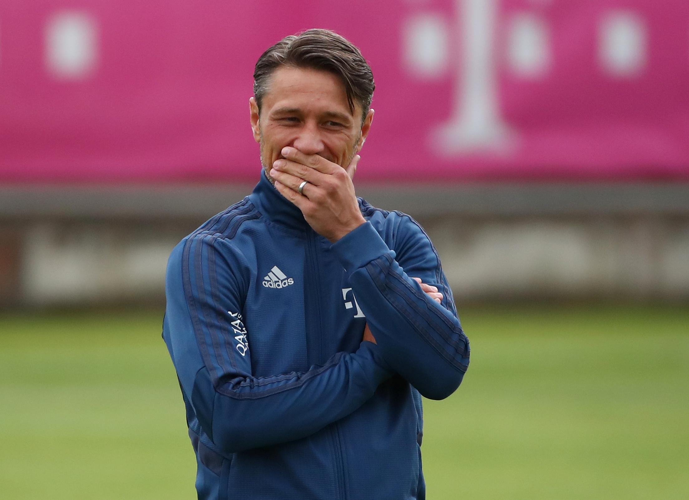 Soccer Football - Bayern Munich Training - Saebener Strasse, Munich, Germany - July 8, 2019   Bayern Munich coach Niko Kovac during training   REUTERS/Michael Dalder - RC1A95CF6D20