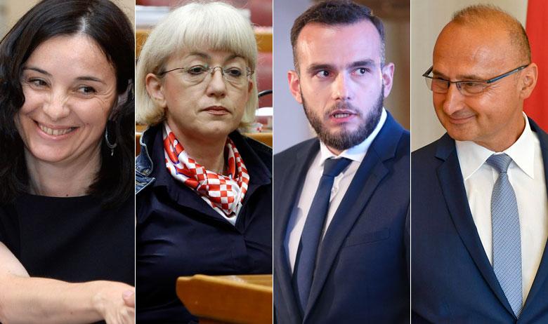 Marija Vučković, Vesna Bedeković, Josip Aladrović i Gordan Grlić Radman