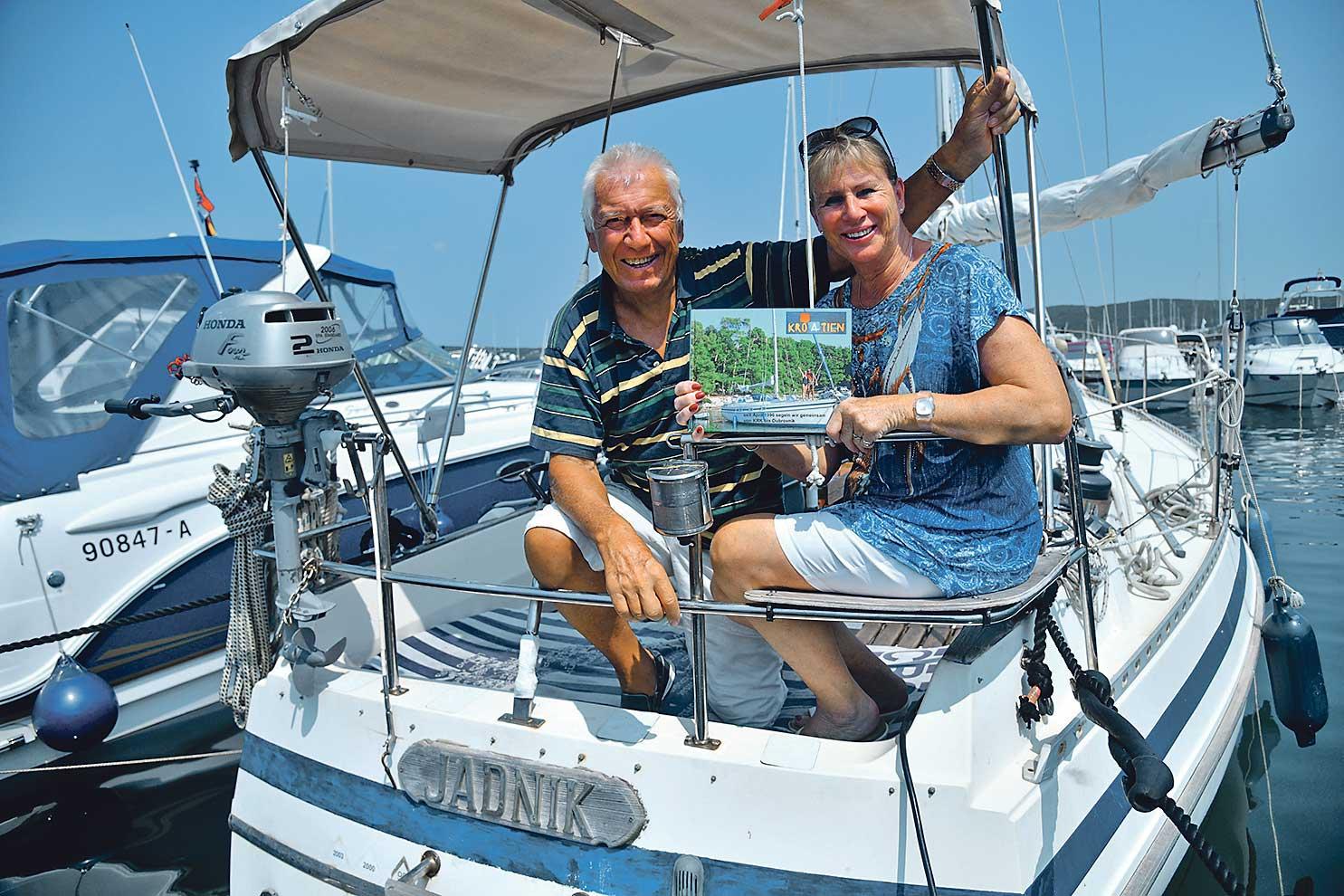 Peter Josting sa suprugom Sybill