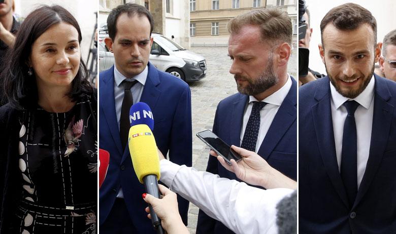 Marija Vučković, Ivan Malenica, Josip Aladrović i Mario Banožić