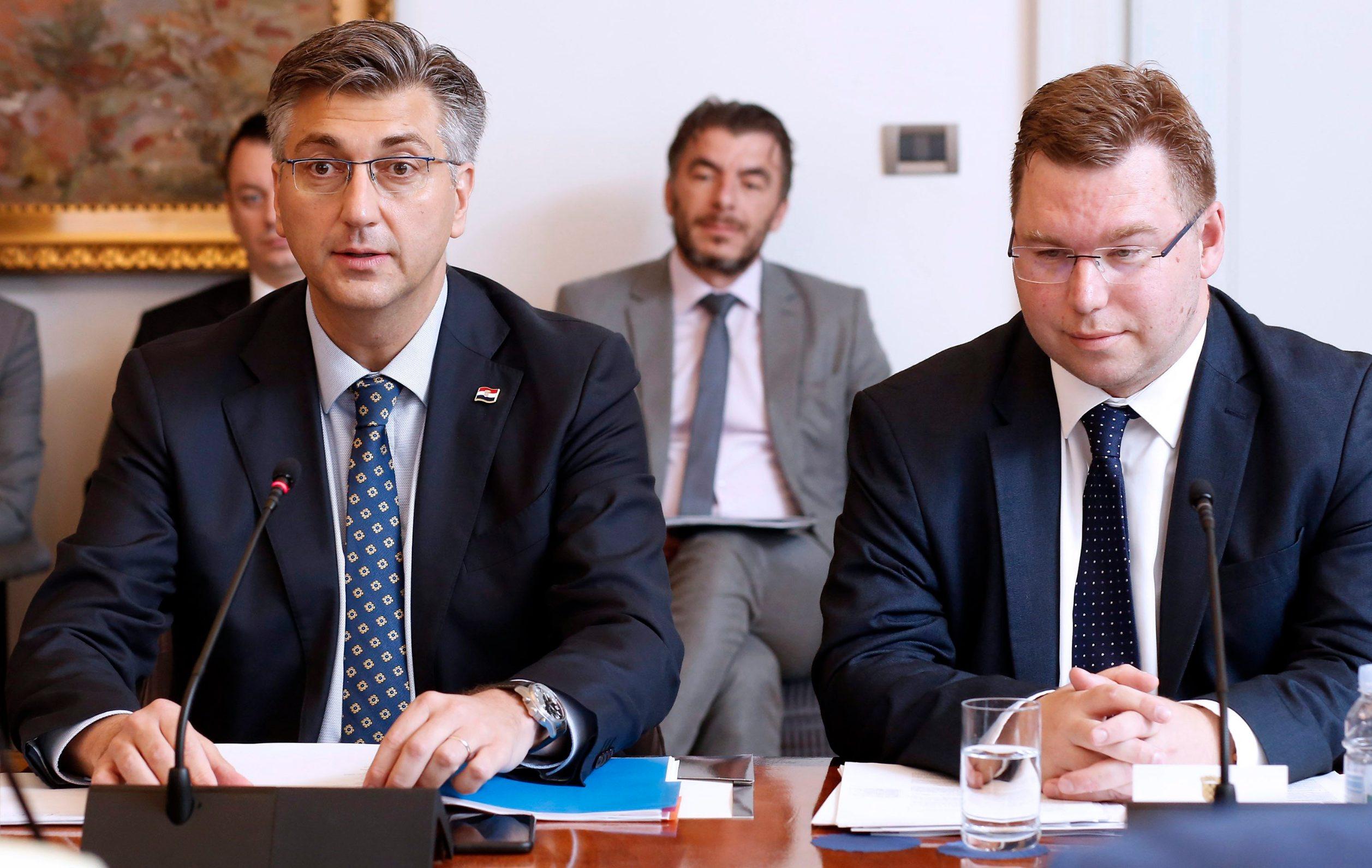Andrej Plenković, Marko Pavić