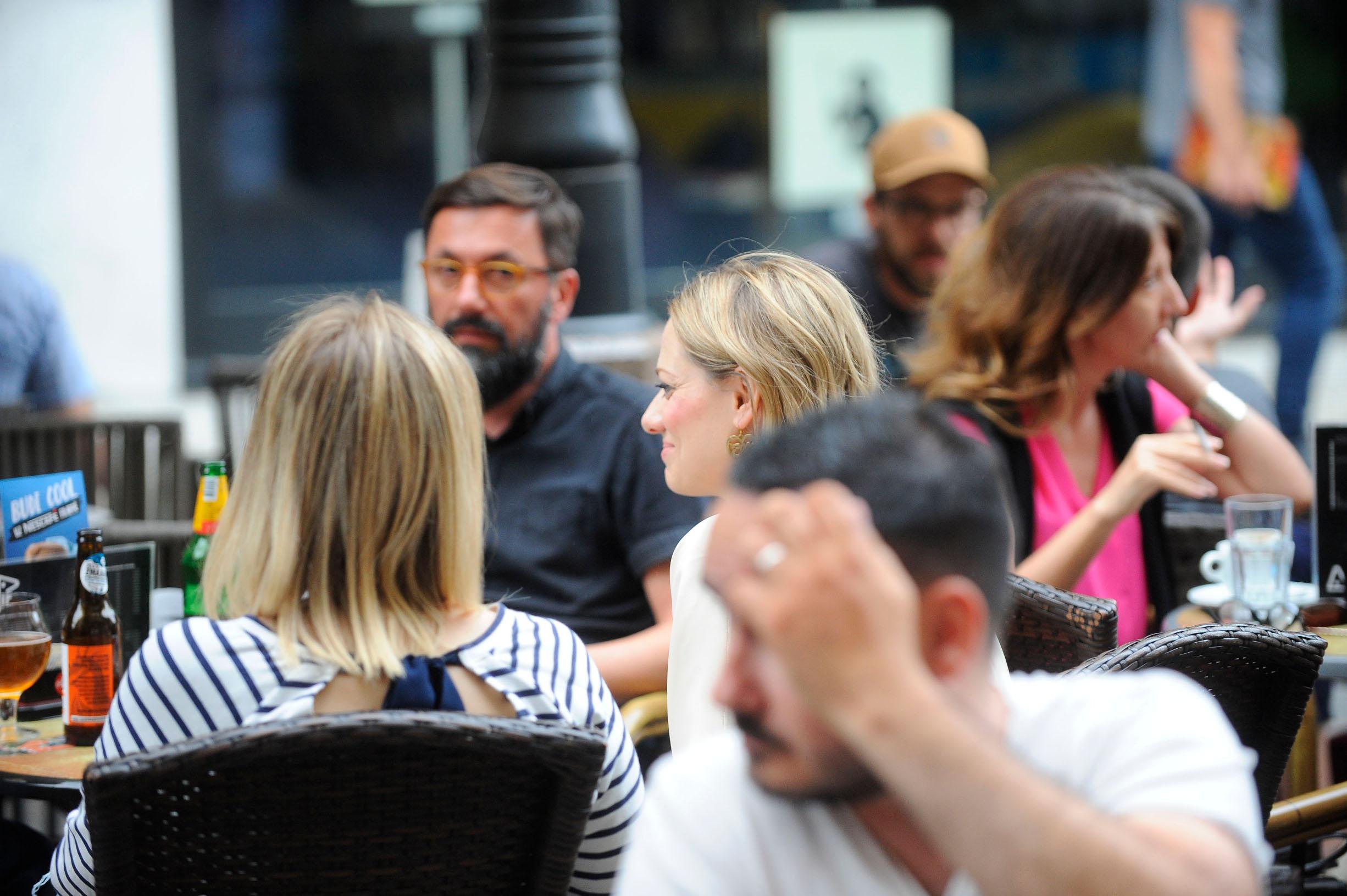 Spica / Zagreb 11.07.2019. / foto: Davor Matota / Jelena Veljaca i decko Ivan Gale