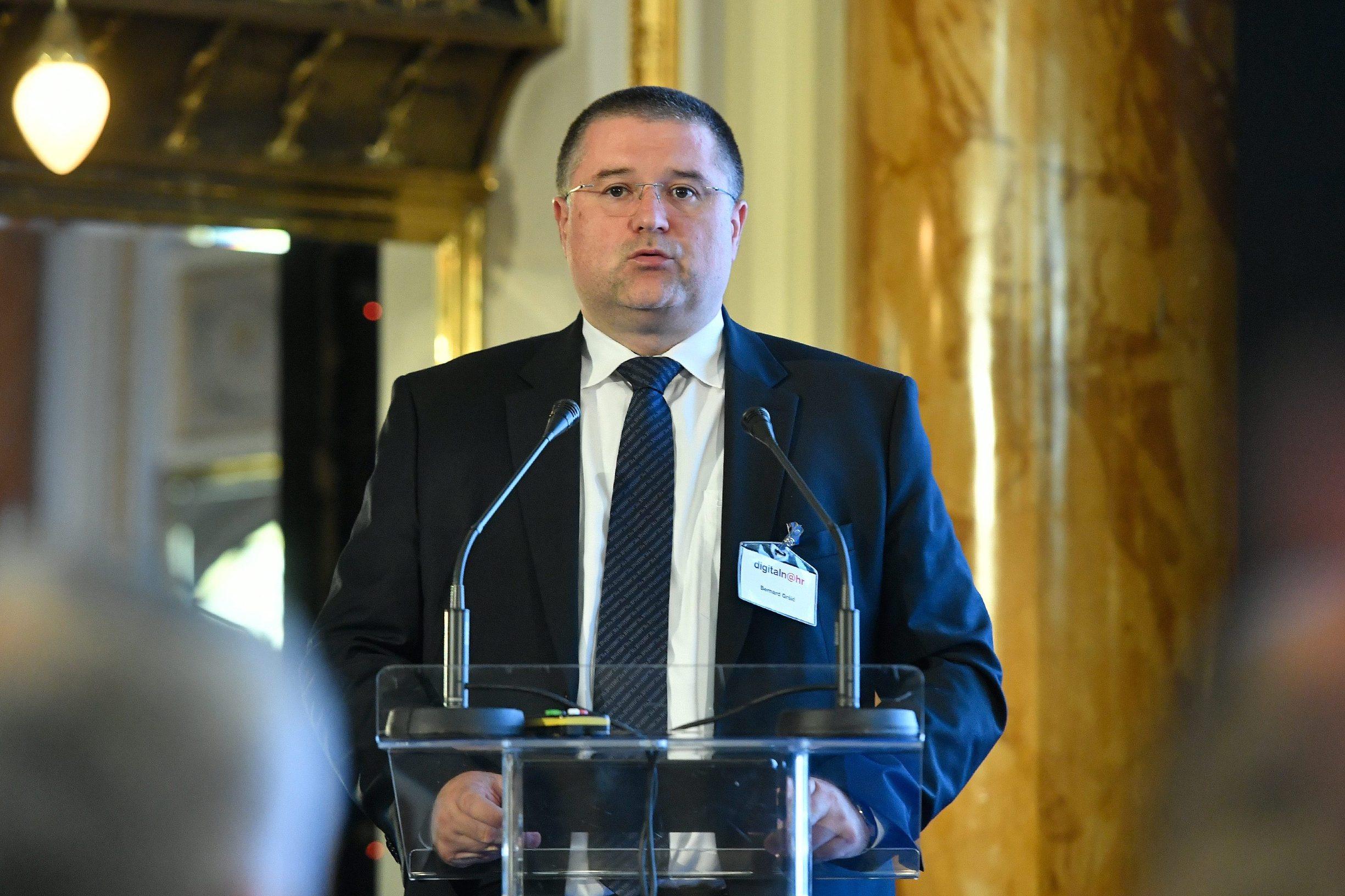 Bernard Gršić, državni tajnik Središnjeg državnog ureda za razvoj digitalnog društva