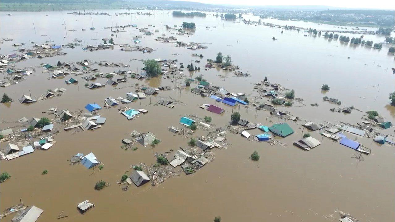 Poplave u Irkutsku