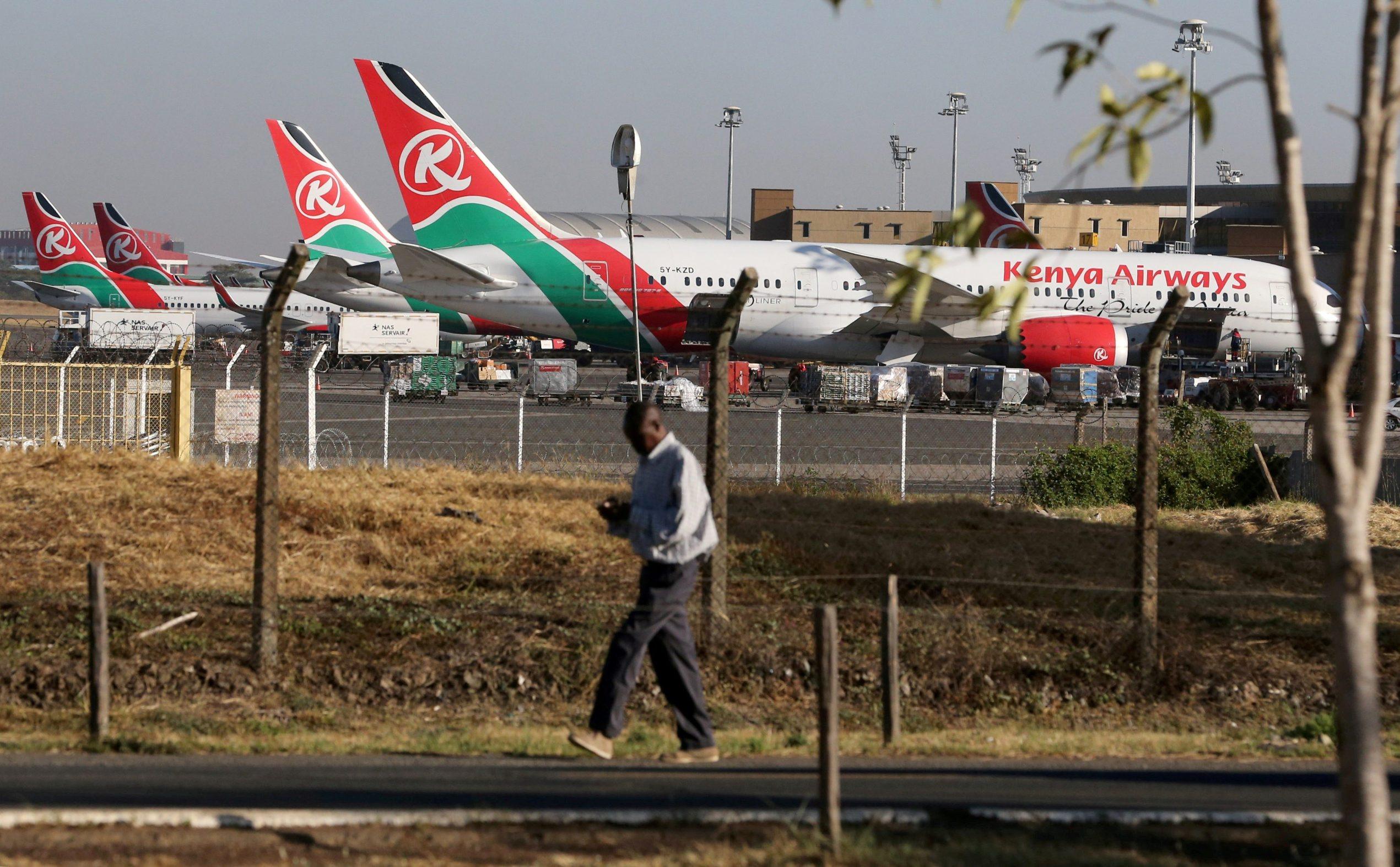 Zrakoplov Kenya Airlinesa