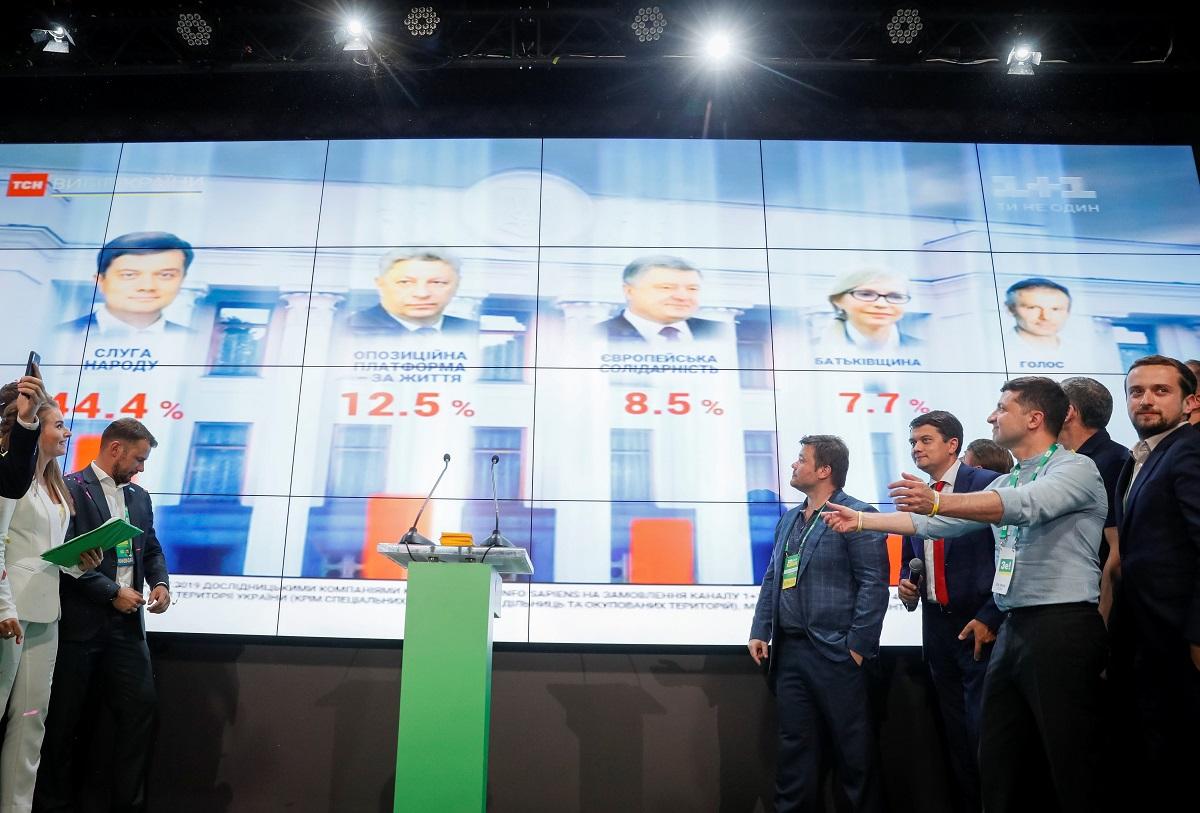 Ukrajinski predsjednik Volodimir Zelenskij dočekao izlazne ankete