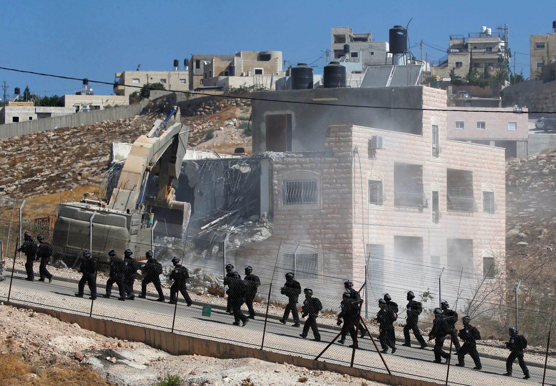 KAŽNJAVANJE PALESTINACA: Izrael ruši projekte Europske unije na palestinskim teritorijima