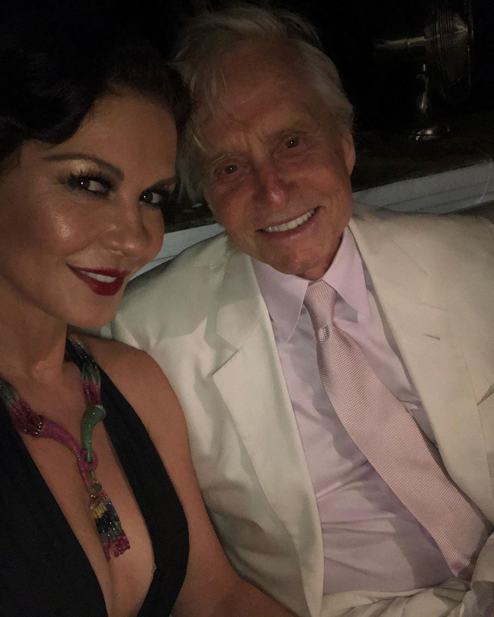 Catherine Zeta Jones has posted a photo on Instagram with the following remarks: Captivating Capriâ¤ï¸Happy Birthday to our dear friend Lawrence.     Instagram, 2019-07-22 11:21:21.  Photo supplied by insight media. Service fee applies.  NICHT ZUR VERÃFFENTLICHUNG IN BÃCHERN UND BILDBÃNDEN! EDITORIAL USE ONLY! / MAY NOT BE PUBLISHED IN BOOKS AND ILLUSTRATED BOOKS! Please note: Fees charged by the agency are for the agencyâs services only, and do not, nor are they intended to, convey to the user any ownership of Copyright or License in the material. The agency does not claim any ownership including but not limited to Copyright or License in the attached material. By publishing this material you expressly agree to indemnify and to hold the agency and its directors, shareholders and employees harmless from any loss, claims, damages, demands, expenses (including legal fees), or any causes of action or allegation against the agency arising out of or connected in any way with publication of the material., Image: 460100842, License: Rights-managed, Restrictions: NICHT ZUR VERÃFFENTLICHUNG IN BÃCHERN UND BILDBÃNDEN! Please note additional conditions in the caption, Model Release: no, Credit line: Profimedia, Insight Media