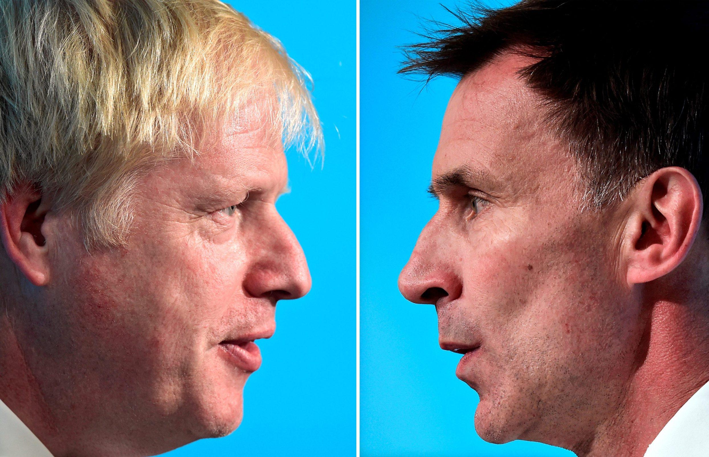 Boris Johnson i Jeremy Hunt