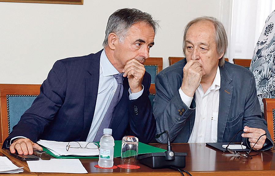 Milorad Pupovac (lijevo) i Furio Radin (desno)
