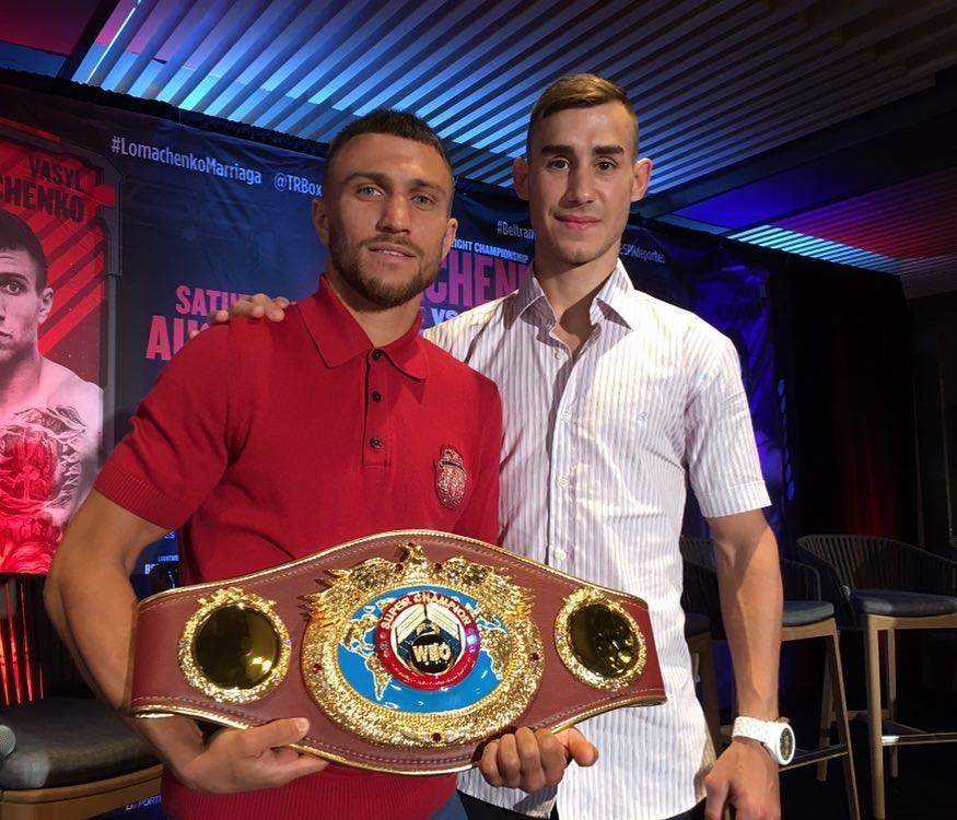 Vasyl Lomachenko i Maxim Dadashev