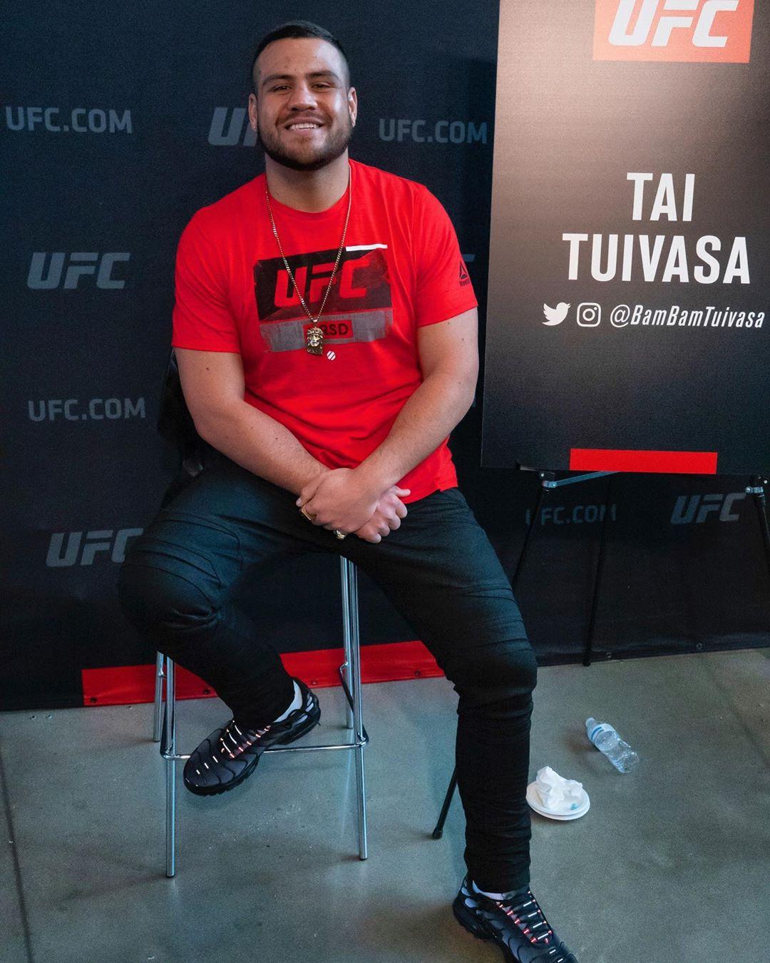 Tai Tuivasa (Instagram)