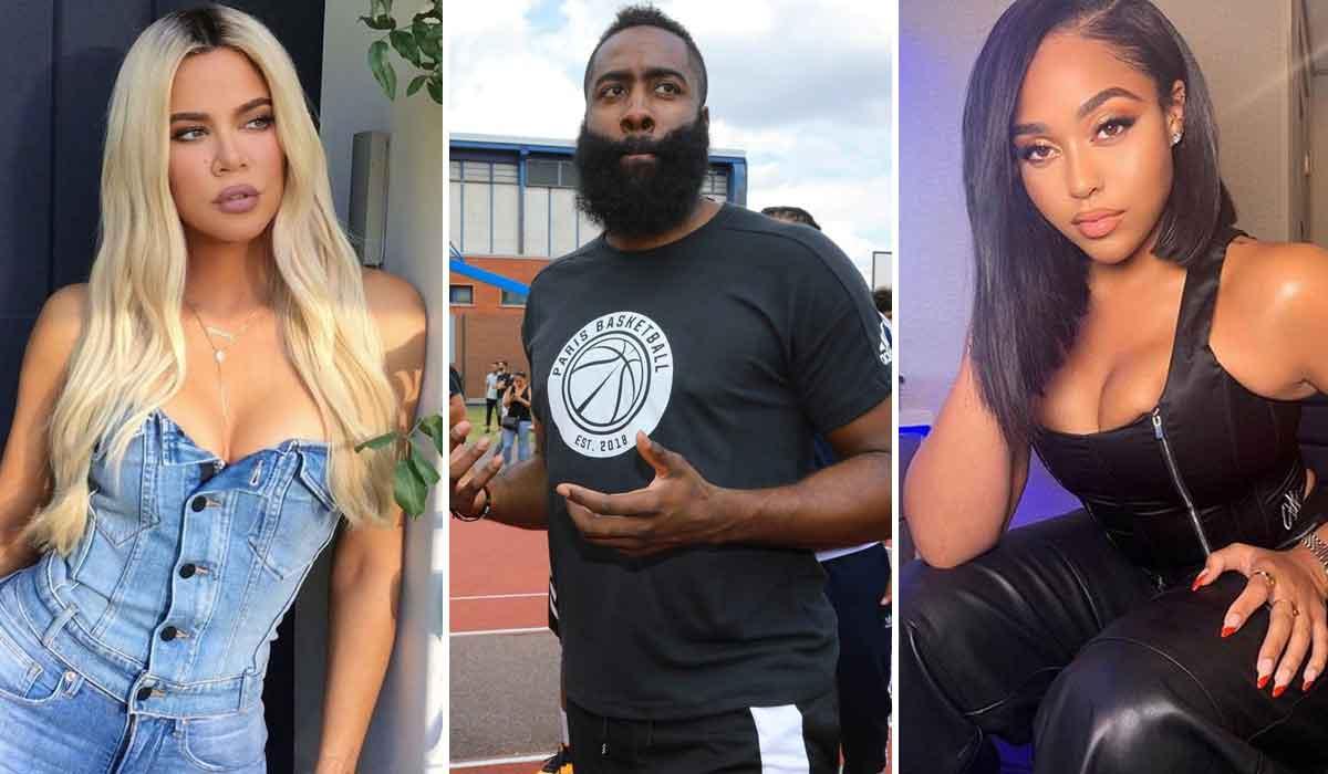 Khloé Kardashian, James Harden, Jordyn Woods