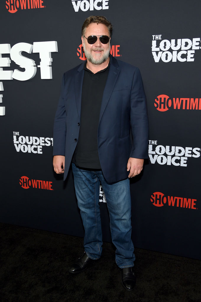 NEW YORK, NEW YORK - JUNE 24: Russell Crowe attends