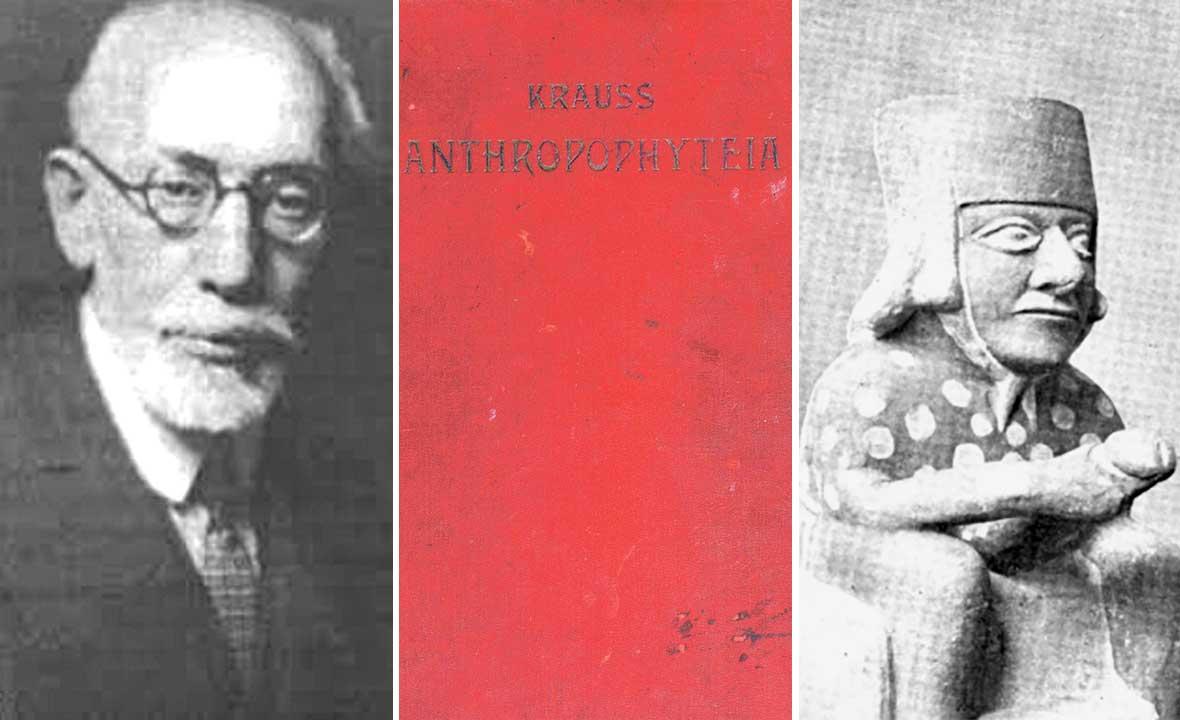 Friedrich Salomon Krauss (lijevo)
