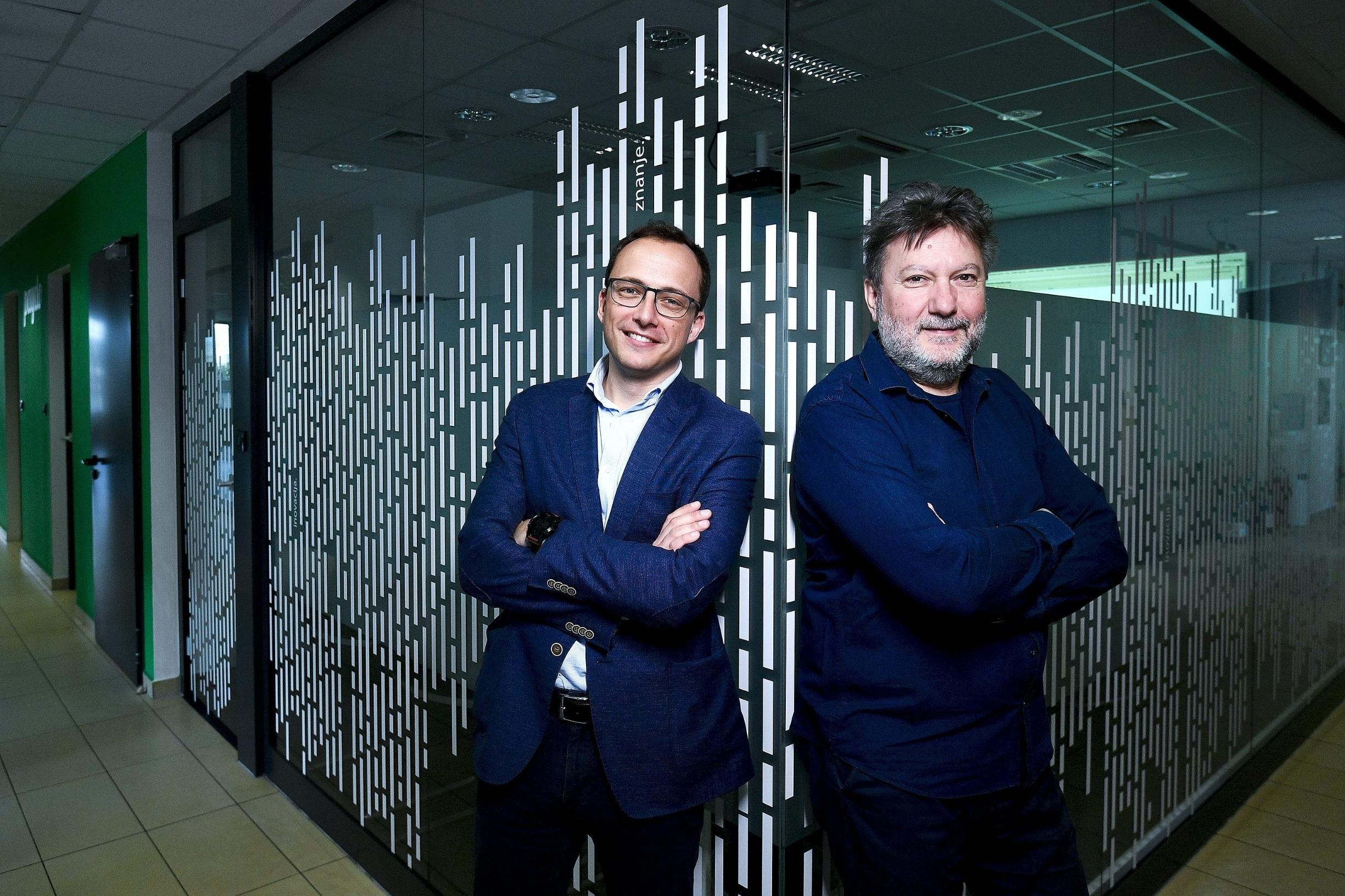 Infoart, CEO Mario Hegedus i osnivač tvrtke Borivoj Sirovica