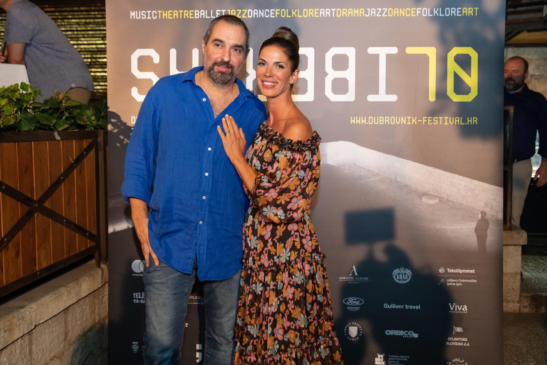 Enes Vejzović i Bojana Gregorić Vejzović