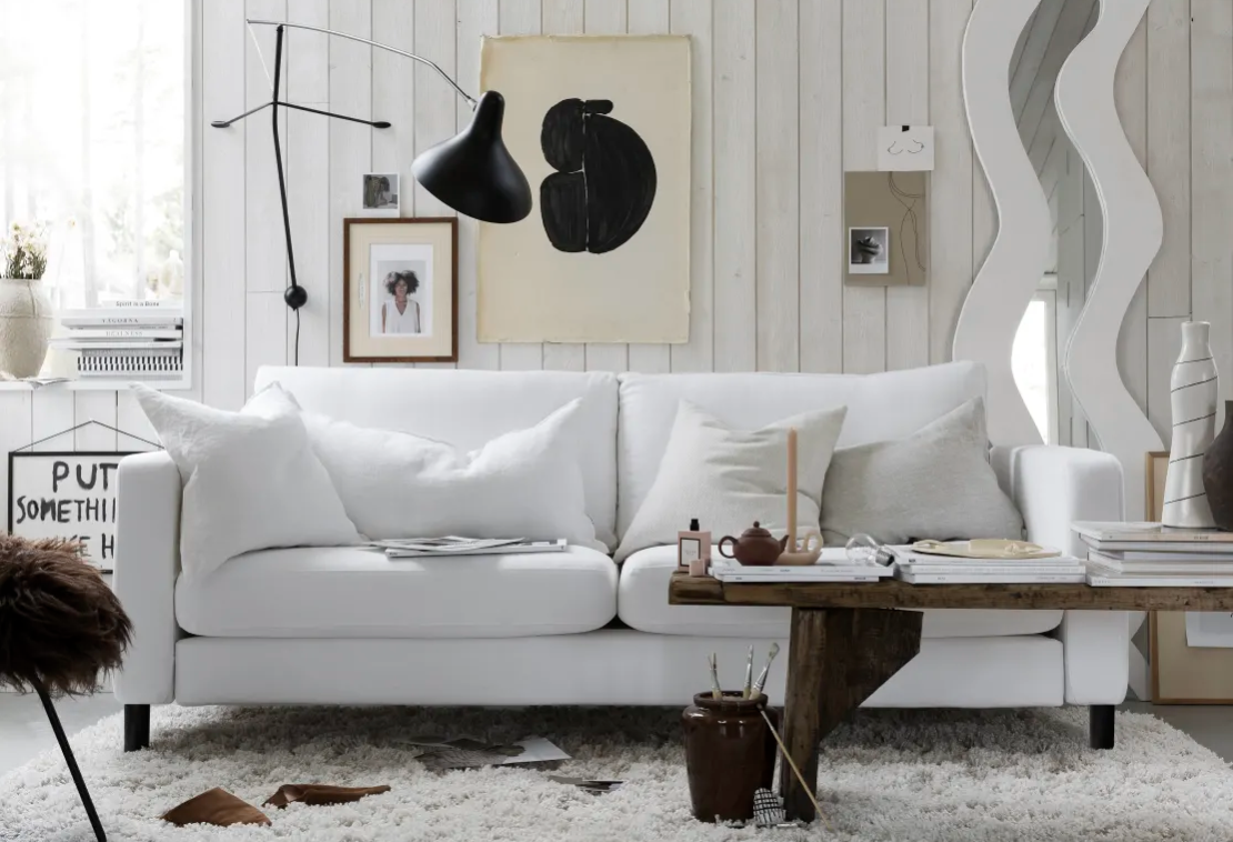 Bijela sofa