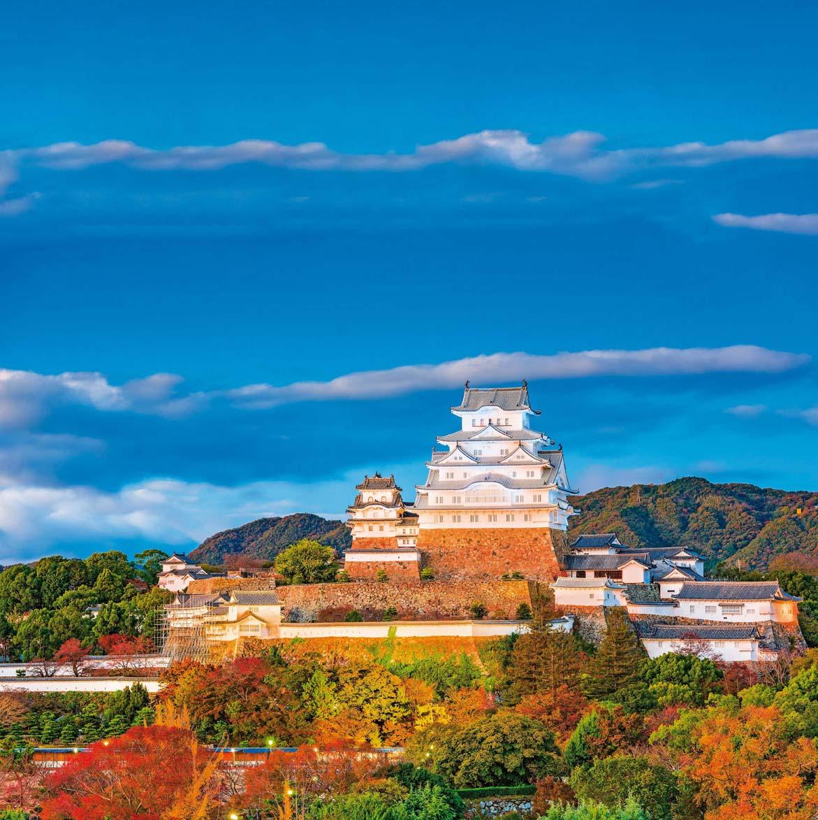 Himeji je jedan od najbolje sačuvanih srednjovjekovnih dvoraca u Japanu