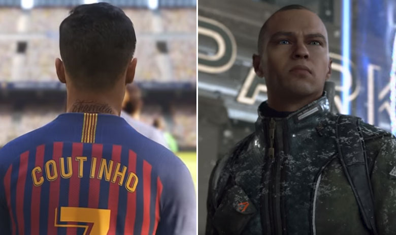 Pro Evolution Soccer 2019, Detroit: Become Human