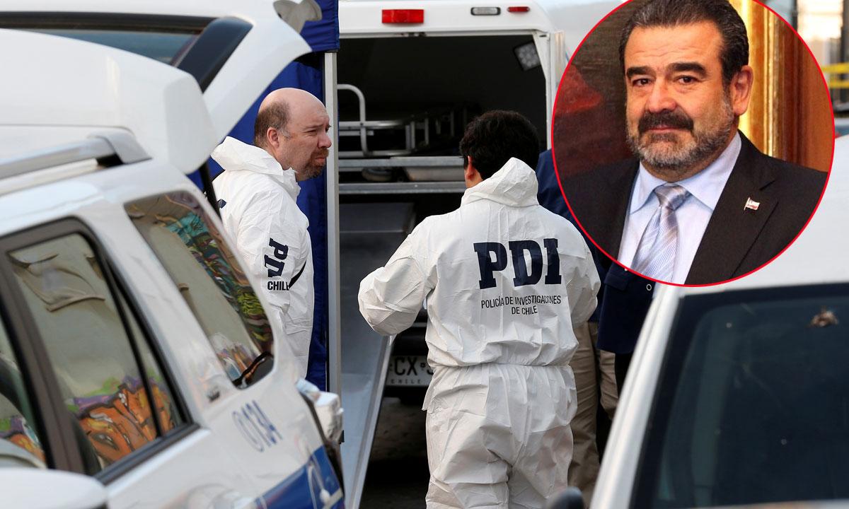 Arhiva: Čileanska policija; Andronico Lukšić Craig (u krugu)