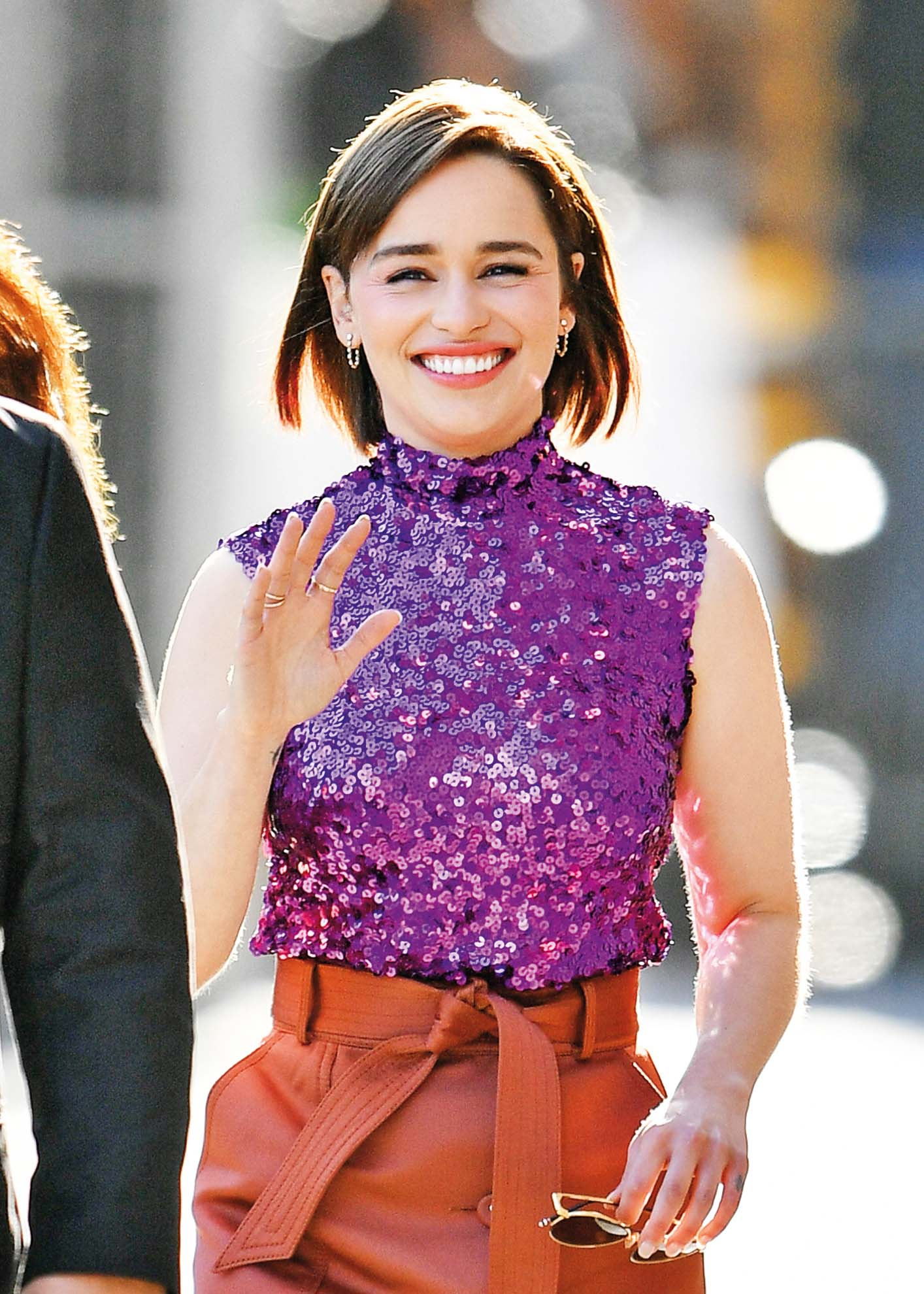 LOS ANGELES, CA - MAY 01: Emilia Clarke is seen on May 01, 2019 in Los Angeles, California.  (Photo by PG/Bauer-Griffin/GC Images)
