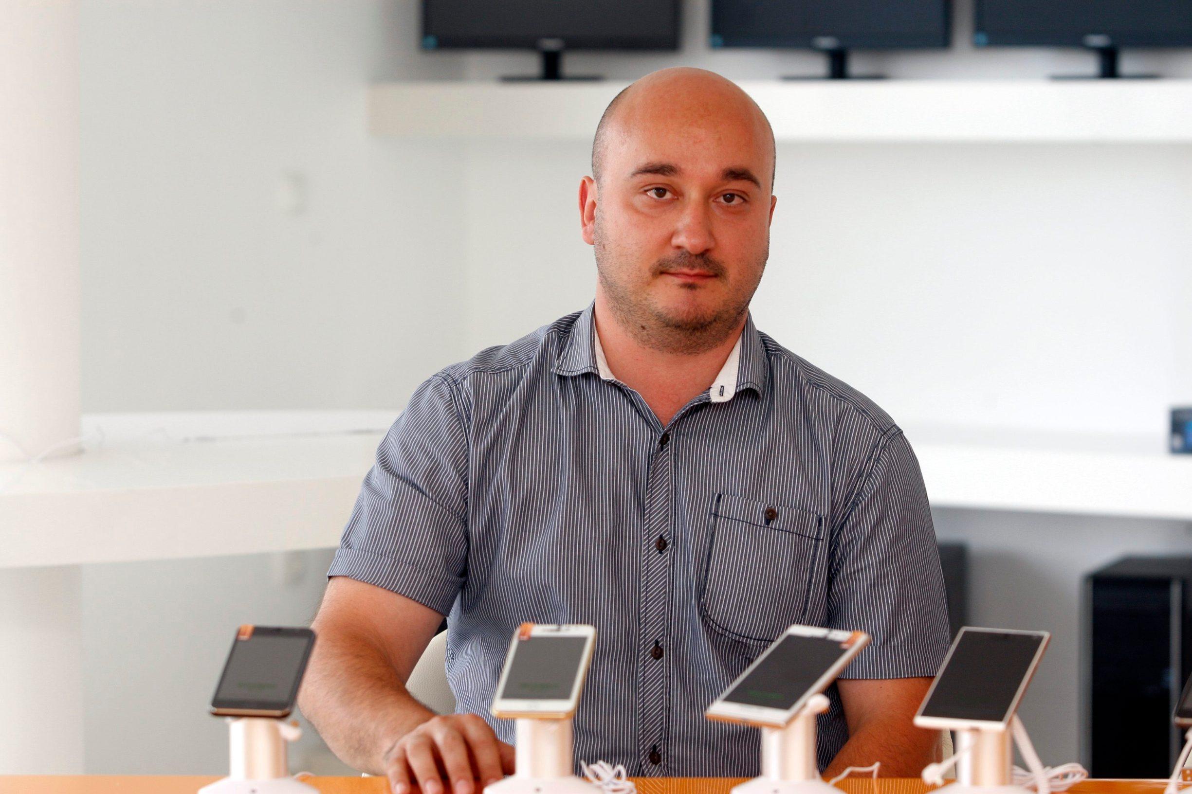 Mario Kralj, direktor tvrtke Hangar 18