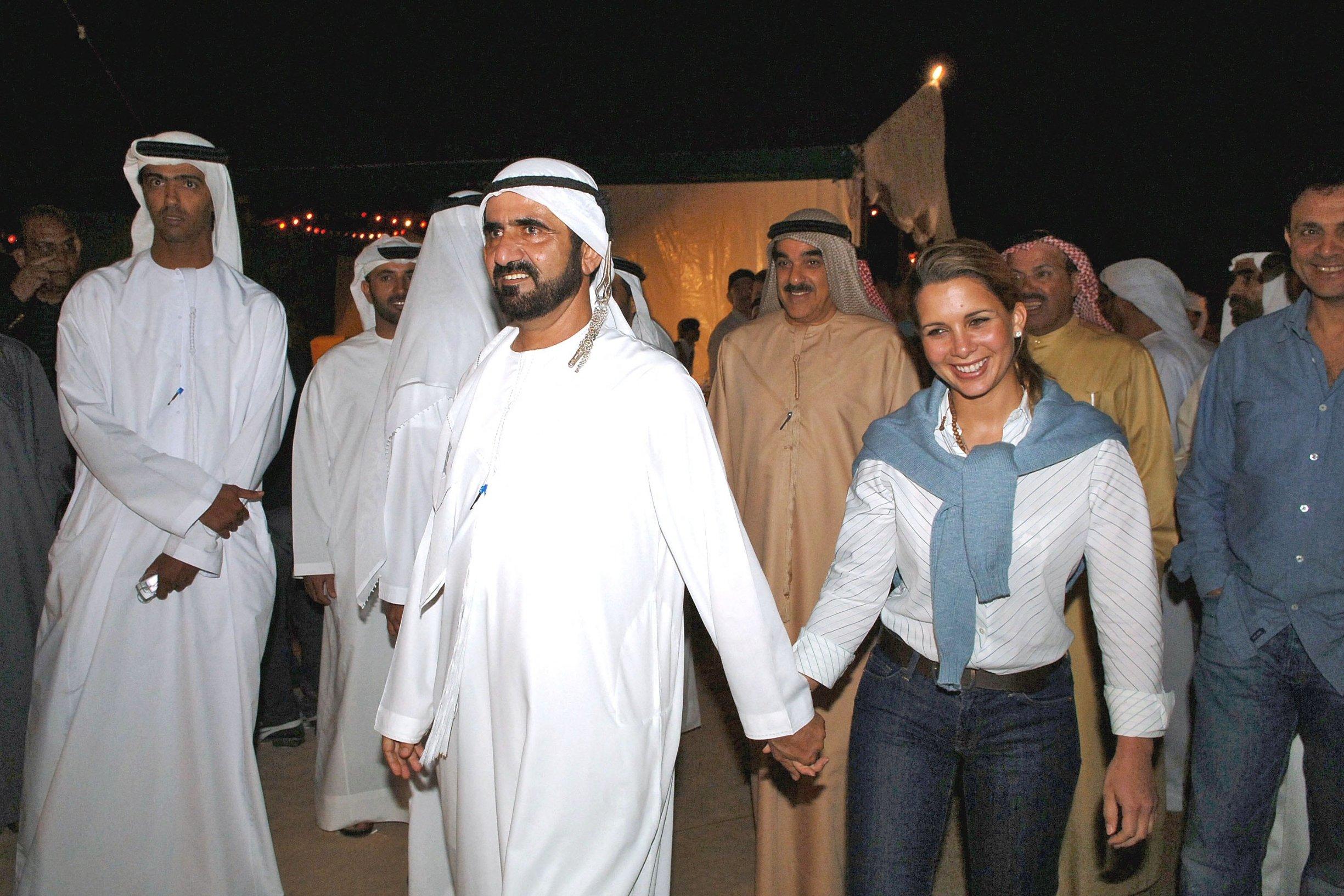 Princeza Haya Bint Al Hussein i njezin suprug šeik Mohammed bin Rashid Maktoum