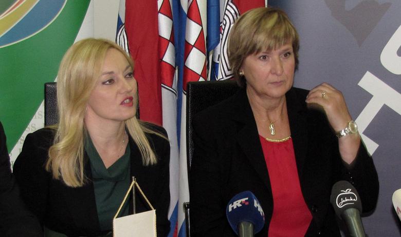 Marijana Petir, bivša zastupnica koja je prošlih pet godina bila među najaktivnijim članicama u Odboru za poljoprivredu iz grupacije EPP-a, i Ruža Tomašić