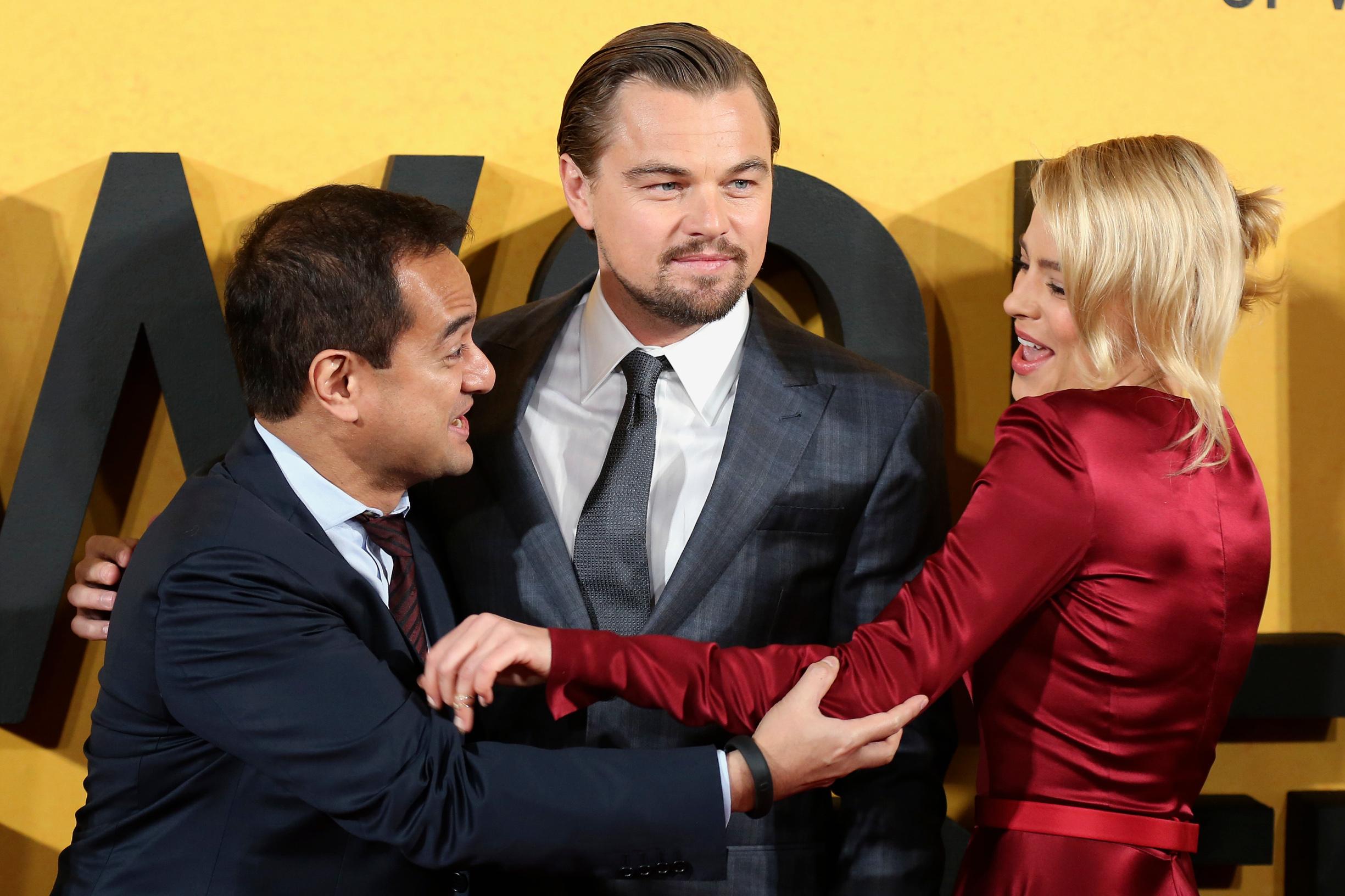 Riza Aziz, Leonardo DiCaprio i Margot Robbie