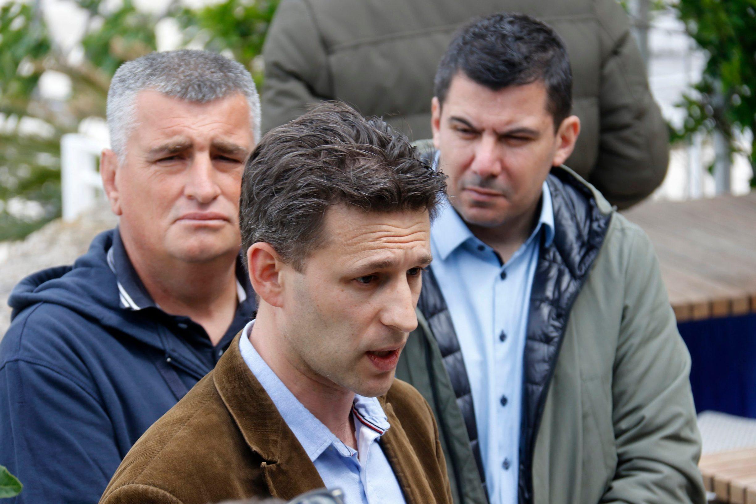 Miro Bulj, Božo Petrov, Nikola Grmoja