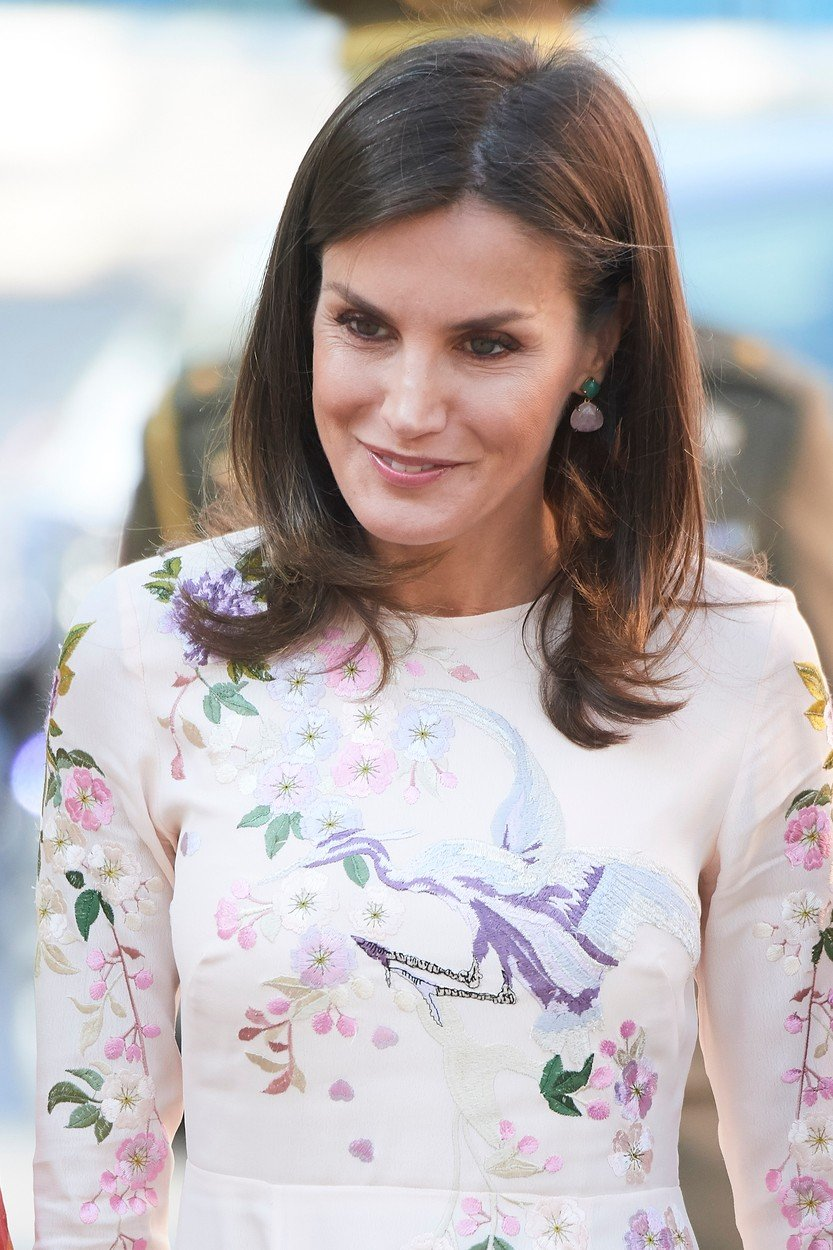 Queen Letizia of Spain attends International Summit of Cancer Research nternational Consultation Workshop at Junta de Madrid of AECC on July 8, 2019 in Madrid, Spain. 08 Jul 2019, Image: 455431422, License: Rights-managed, Restrictions: NO Netherlands, Spain, Model Release: no, Credit line: Profimedia, Mega Agency