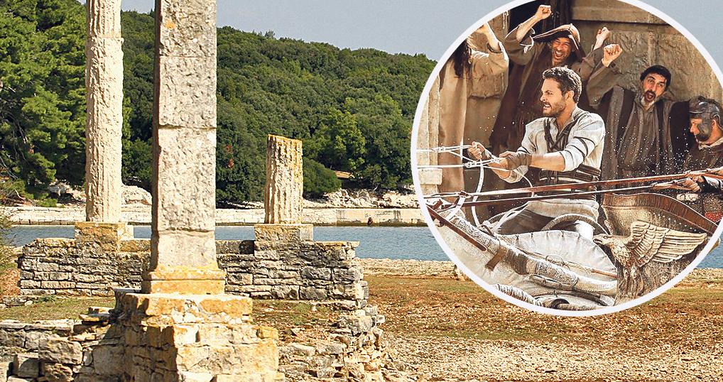Ostaci rimske vile u uvali Verige u kojoj je navodno zazidan Gaius