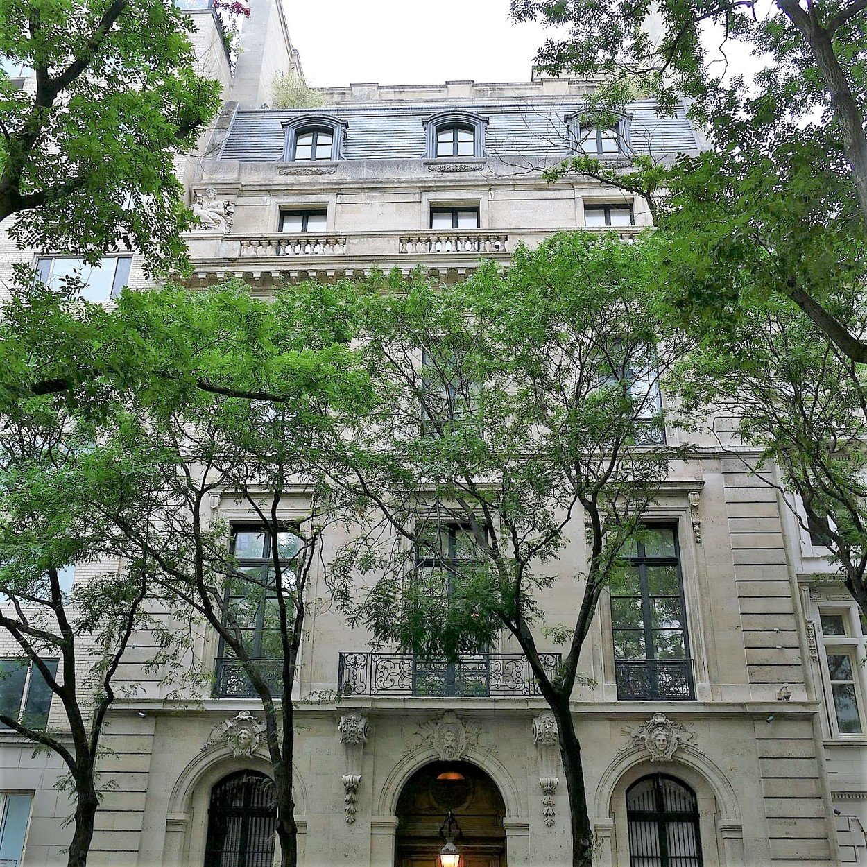 Pictures of Jeffrey Epstein's Manhattan residence that still shows signs of the raid by investigators as well as unusual naked statues overseeing the fortress. 08 Jul 2019, Image: 455569781, License: Rights-managed, Restrictions: World Rights, Model Release: no, Credit line: Profimedia, Mega Agency