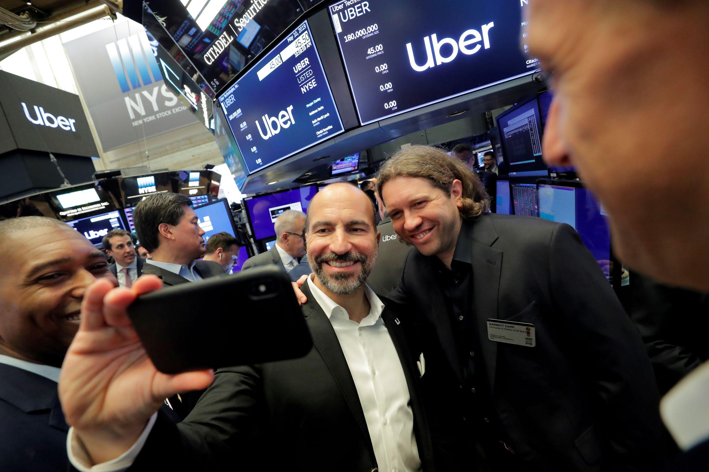 Dara Khosrowshahi, šef Ubera na Wall Streetu na otvaranju trgovanja dionicama te kompanije