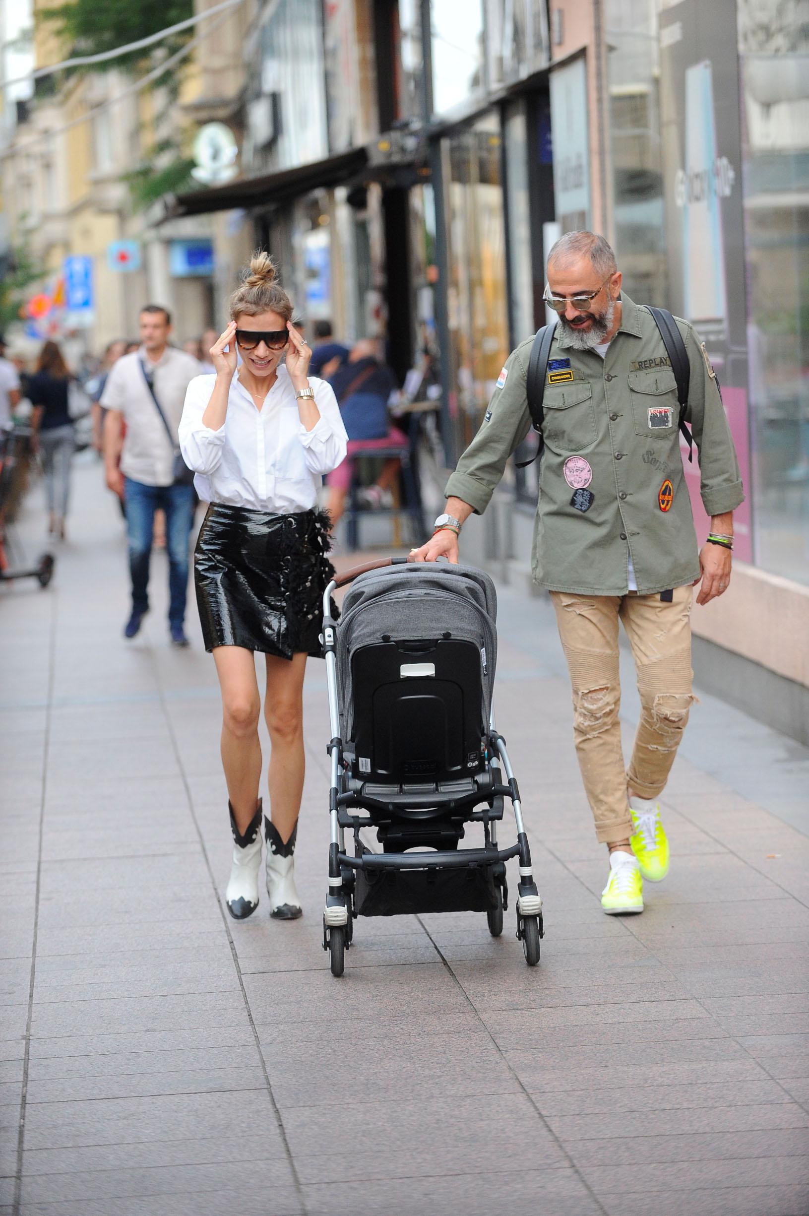 Spica / Zagreb 11.07.2019. / foto: Davor Matota / Marina Matic i suprug Kreso Matic i sin Vid