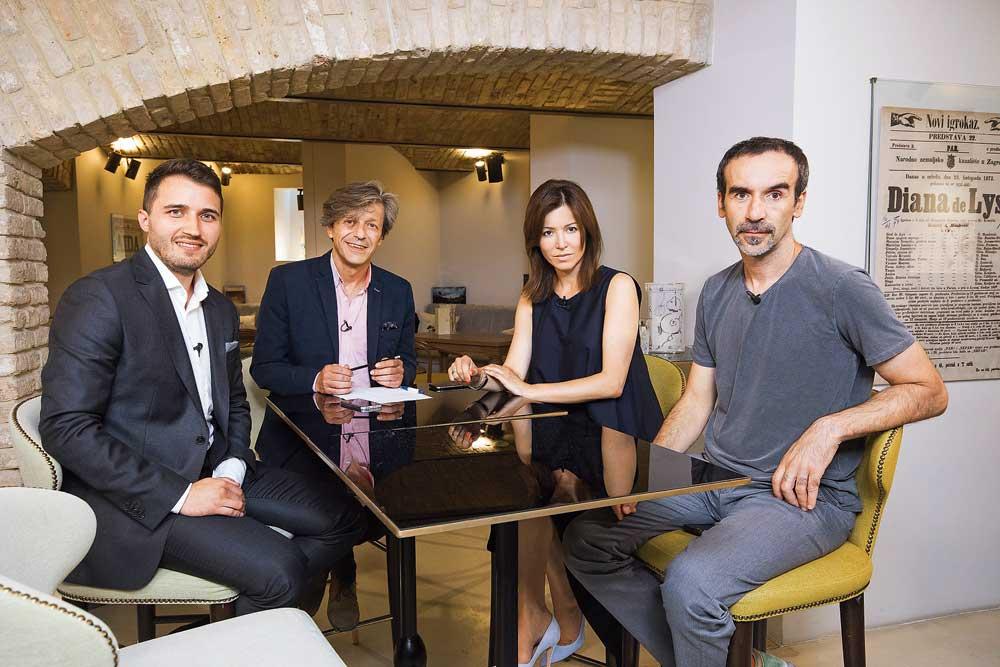 Siniša Topalović, Boris Vlašić, Martina Biennefeld i Dražen Grubišić
